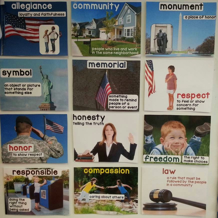 American Symbols and Citizenship