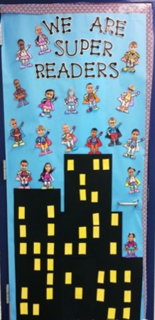Door Decorating Ideas For Literacy Week Sunny And Bright In Primary
