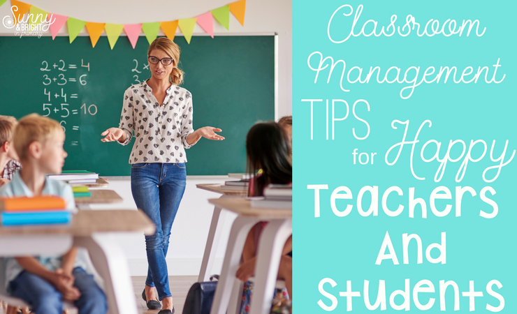 Classroom Management Tips for Happy Classrooms