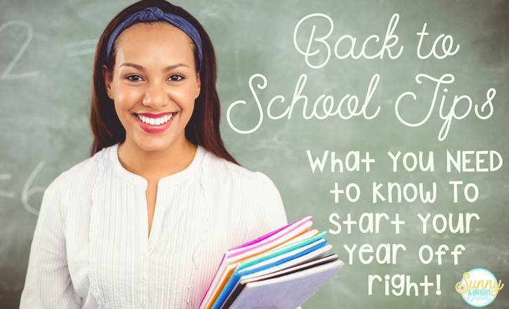 Back to School Tips for Teachers & $100 TPT Giveaway!