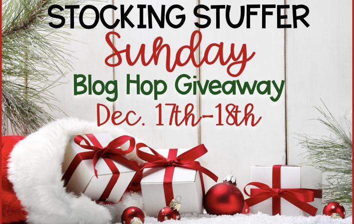 Stocking Stuffer Sunday!