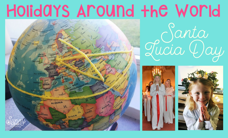 Santa Lucia Day for Kids – Holidays Around the World: Sweden