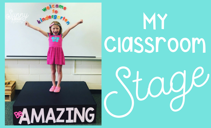 My Classroom Stage!