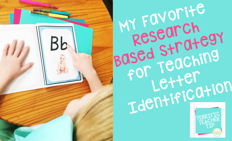 Teaching Letter Identification with Letter Tracing