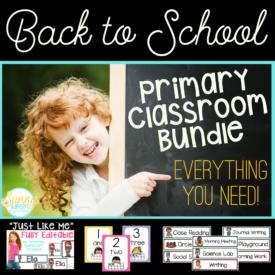 primary classroom bundle-2